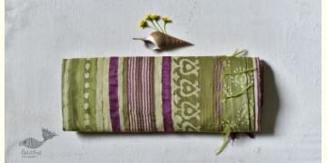 Bheeni . भीनी ❧ Handloom Mulberry Silk Dabu Printed Saree ☙ 3