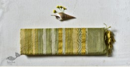 Bheeni . भीनी ❧ Handloom Mulberry Silk Dabu Printed Saree ☙ 5