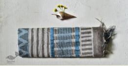 Bheeni . भीनी ❧ Handloom Mulberry Silk Dabu Printed Saree ☙ 8
