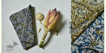 Haripriya .  हरिप्रिया ☘ Block Printed Cotton Saree ☘ Natural Dyed Kalamkari Design ☘ 11