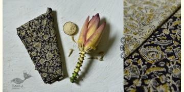 Haripriya .  हरिप्रिया ☘ Block Printed Cotton Saree ☘ Natural Dyed Kalamkari Design ☘ 14