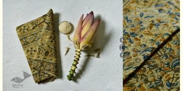 Haripriya .  हरिप्रिया ☘ Block Printed Cotton Saree ☘ Natural Dyed Kalamkari Design ☘ 15