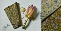 Haripriya .  हरिप्रिया ☘ Block Printed Cotton Saree ☘ Natural Dyed Kalamkari Design ☘ 2