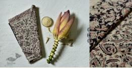 Haripriya .  हरिप्रिया ☘ Block Printed Cotton Saree ☘ Natural Dyed Kalamkari Design ☘ 3
