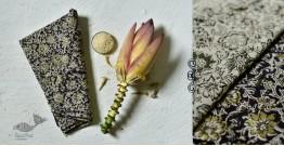 Haripriya .  हरिप्रिया ☘ Block Printed Cotton Saree ☘ Natural Dyed Kalamkari Design ☘ 7