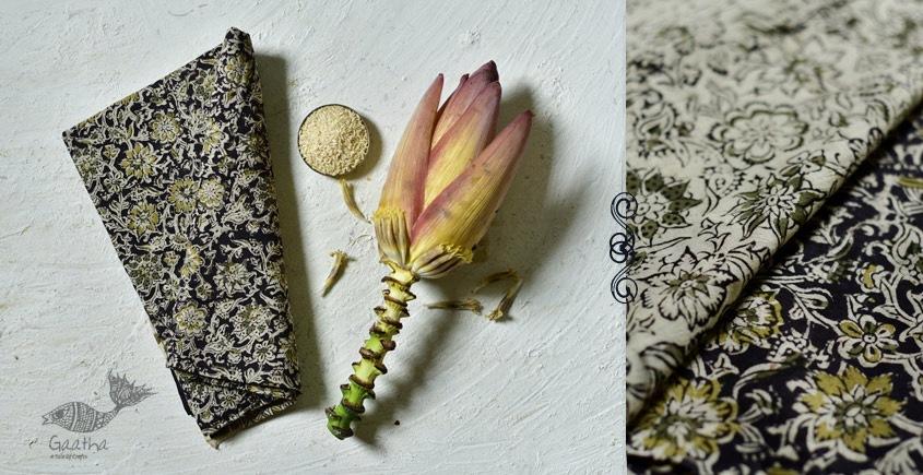 shop exclusive handloom hand block printed kalamkari cotton saree