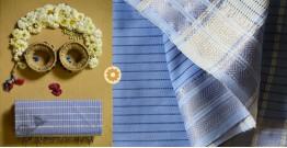 Iris ❢ Maheshwari Handloom  ❢ Cotton Checks Saree ❢ 7