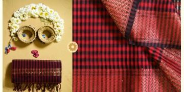 Iris ❢ Maheshwari Handloom ❢ Cotton Checks Saree ❢ 8