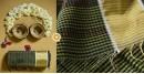 Green checks Cotton Handloom Saree