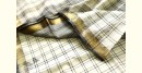 Buy Authentic Cotton black and white checks saree