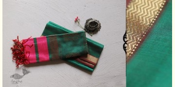 Ojovati ❢ Maheshwari ❢ Dress Material (Top & Dupatta) ~ 28
