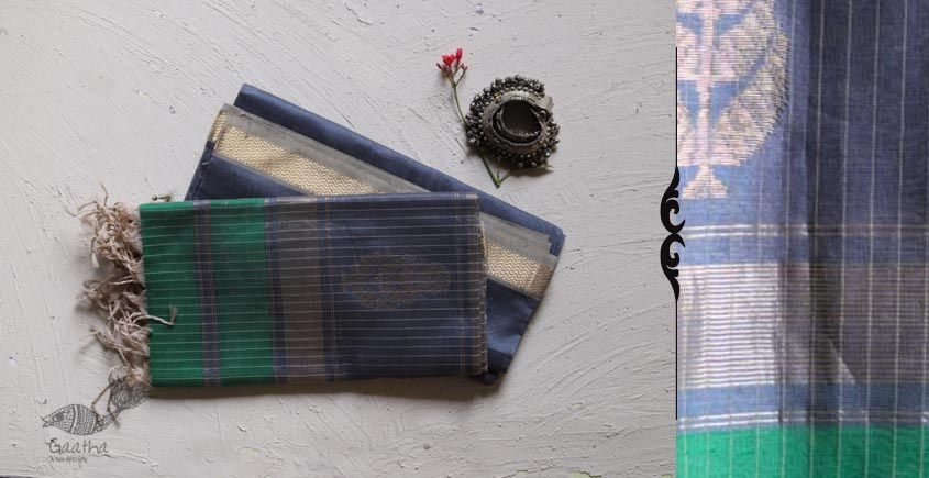 Shop online Handloom Maheshwari Dress Material with dupatta