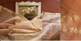 सुगंधिका ✻ Maheshwari ✻ Cotton Silk Stole - Pink ✻ E 9