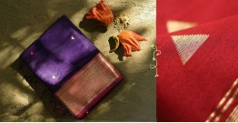 Ojovati ❢ Maheshwari ❢ Cotton Silk Saree with Zari Border ❢ 13