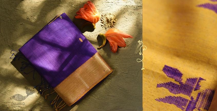 Ojovati ❢ Maheshwari ❢ Cotton Silk Saree with Zari Border ❢ 14