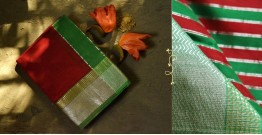 Ojovati ❢ Maheshwari ❢ Cotton Silk Saree with Zari Border ❢ 7