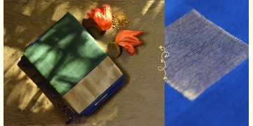 Ojovati ❢ Maheshwari ❢ Cotton Silk Saree with Zari Border ❢ 11