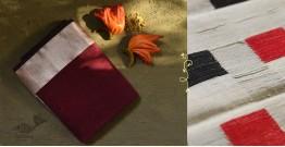 Ojovati ❢ Maheshwari ❢ Cotton Silk Saree with Zari Border ❢ 12