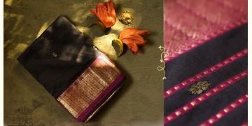 Ojovati ❢  Maheshwari ❢ Pure Silk Saree with Zari Border ❢ 2
