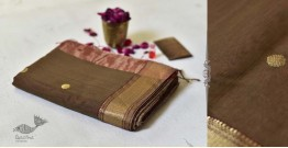 Meghaduta ❧ Maheshwari Silk Saree ❧ 1
