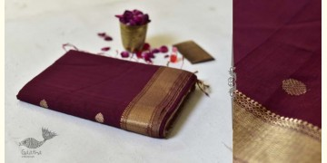Meghaduta ❧ Maheshwari Silk Saree ❧ 3