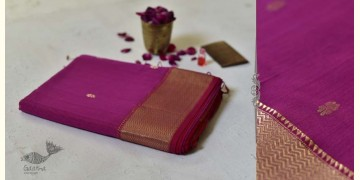 Meghaduta ❧ Maheshwari Silk Saree ❧ 7