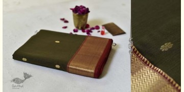 Meghaduta ❧ Maheshwari Silk Saree ❧ 8