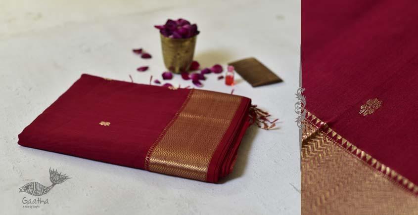 Meghaduta ❧ Maheshwari Silk Saree ❧ 9