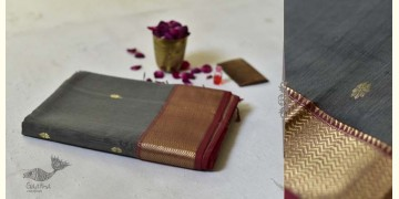 Meghaduta ❧ Maheshwari Silk Saree ❧ 10
