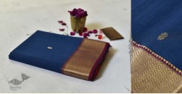Meghaduta ❧ Maheshwari Silk Saree ❧ 11