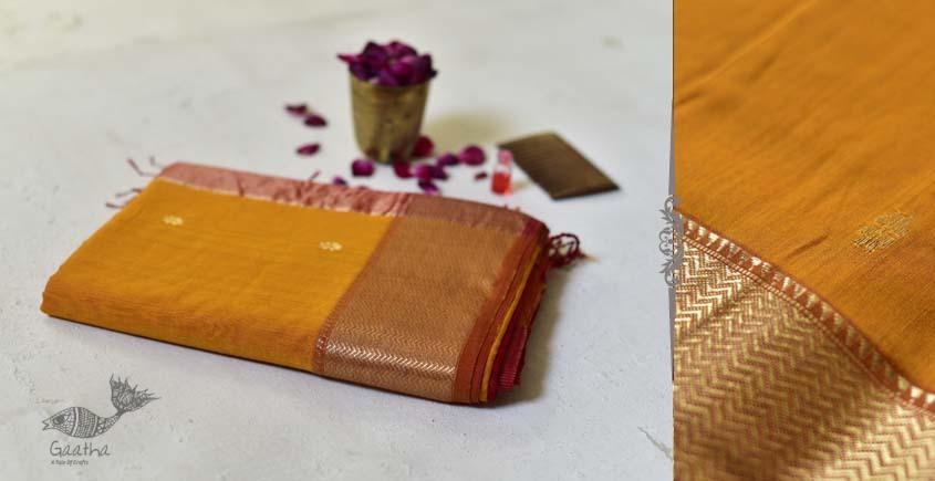 Meghaduta ❧ Maheshwari Silk Saree ❧ 14