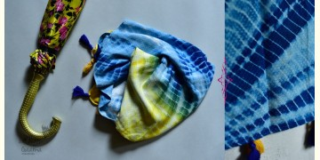 Amber Skies ☂ Tie & Dyed Stole ☂ 5