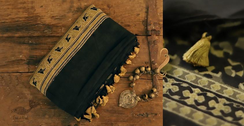 Sindhu ⚘ Ajrakh Mul Cotton Saree ⚘ Natural Dyed ⚘ { 102 }