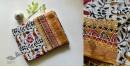 Kopal ❂ Handloom Block Printed Linen Saree ❂ 10