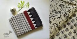 Kopal ❂ Handloom Block Printed Linen Saree ❂ 7