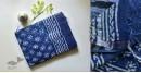 Kopal ❂ Handloom Block Printed Linen Saree ❂ 9