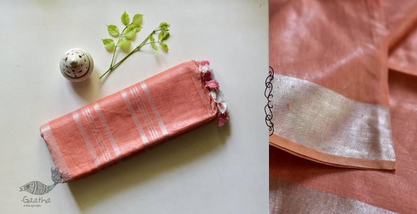 Kopal ❂ Handloom Linen Saree ❂ 1