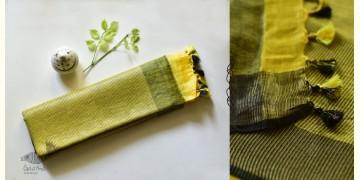 Kopal ❂ Handloom Linen Saree ❂ 4
