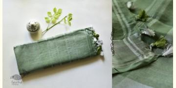 Kopal ❂ Handloom Linen Saree ❂ 6