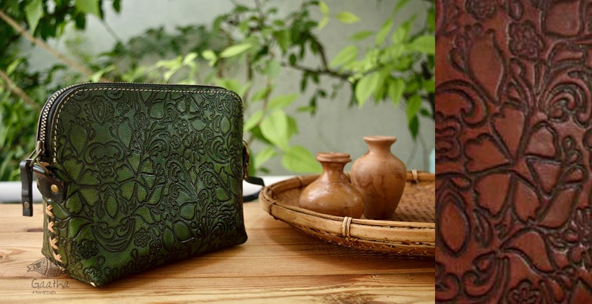 रिक्त . Rikt | Leather Hand Bag ♠ Merida - The Wristlet ♠ 1