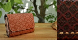 रिक्त . Rikt | Leather Hand Bag ♠ Anna - Small Wallet ♠ 3B
