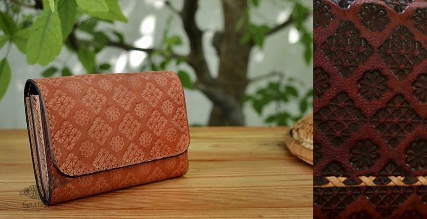 रिक्त . Rikt | Leather Hand Bag ♠ Anna - Small Wallet ♠ 3B