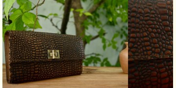 रिक्त . Rikt | Leather Bag ♠ Nala- Clutch Wallet ♠ 5