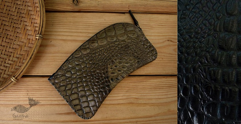 रिक्त . Rikt | Leather Bag ♠ Faline - The Clutch pouch ♠ 8