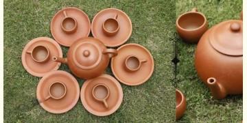 Rivayat ⧆ Handmade Terracotta ⧆ Designer Tea Set ⧆ 16
