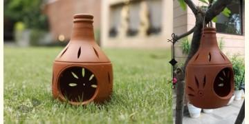 Rivayat ⧆ Handmade Terracotta ⧆ Hanging Candle Light Holder ⧆ 22