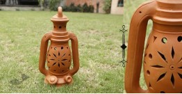 Rivayat ⧆ Handmade Terracotta ⧆ Lantern- Single Baked ⧆ 28