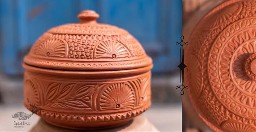 shop online Terracotta Handmade Kitchenware-Roti Box Designer