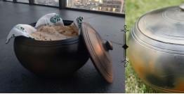 Rivayat ⧆ Handmade Terracotta ⧆ Roti Box-Double Double baked ⧆ 34
