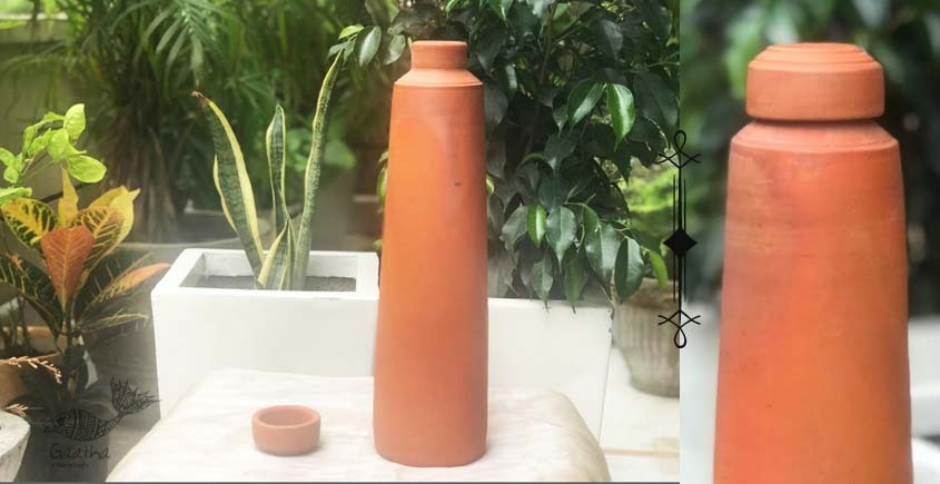 shop online Terracotta Handmade Kitchenware-Straight Bottle
